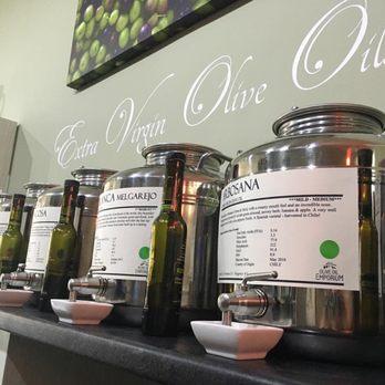Olive oil vats