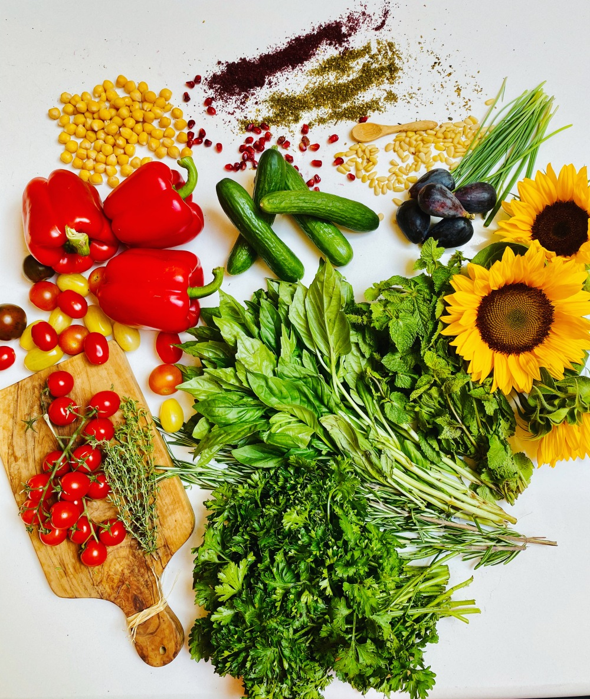 Mixed ingredients in Israeli pantry 6 - Aug. 2020
