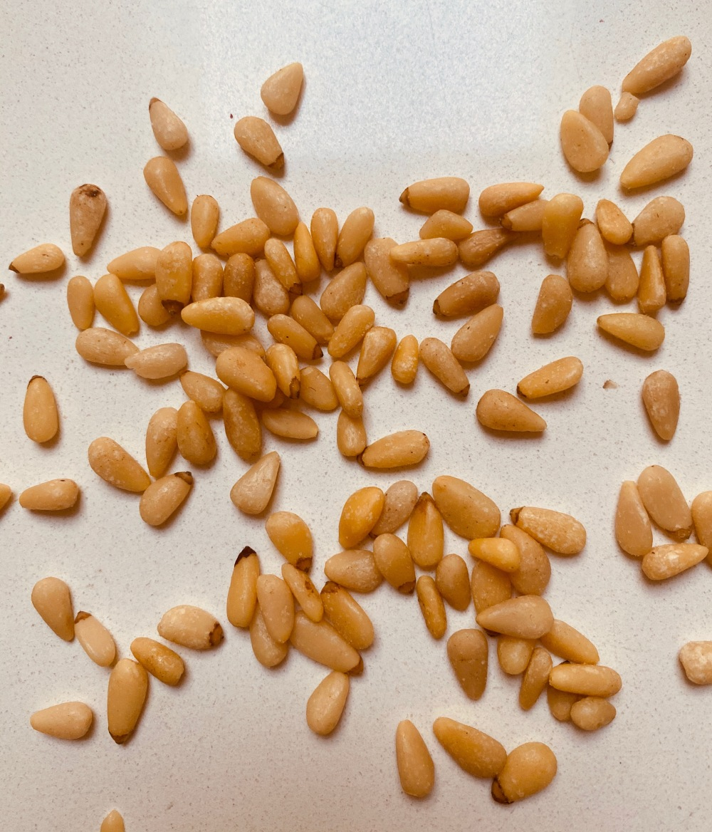 Pine nuts - Aug. 2020