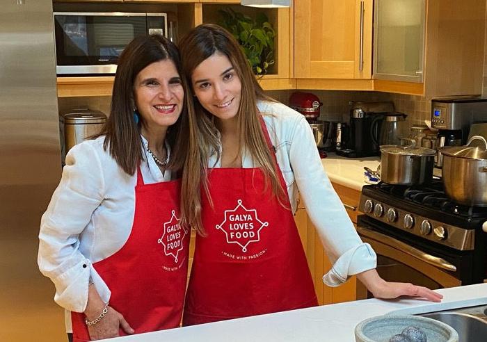 Galya Sarner and her daughter Shani Sarner-Lati