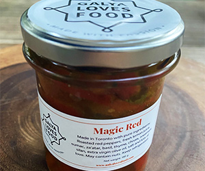 Magic Red Roasted Red Peppers
