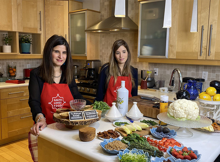 Galya Sarner and her daughter, Shani Sarner-Lati, the women behind food business Galya Loves Food.